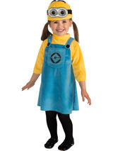 Girl's Despicable Me 2 Minion Costume