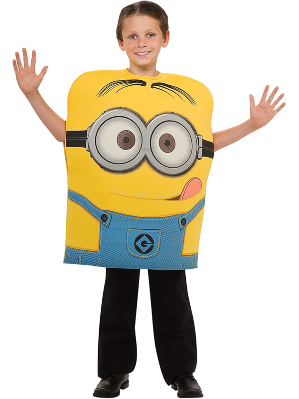 Boy's Despicable Me 2 Minion Dave Costume