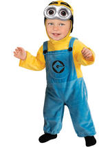 Baby's Despicable Me 2 Minion Costume