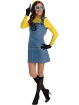 Ladies Despicable Me 2 Female Minion Costume