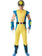 X-Men Men's Wolverine Deluxe Costume