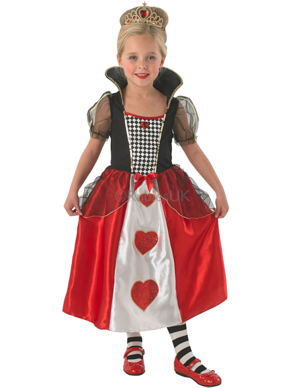 High Quality Queen Elizabeth Costume · Sentinel Child Queen Of Hearts Outfit Fancy Dress  Costume Alice In Wonderland Kids S ... Sc 1 St Best Kids Costumes