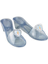Child Blue Cinderella Jelly Shoes