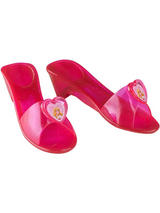Child Pink Sleeping Beauty Jelly Shoes