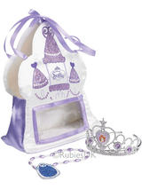 Child Sofia the First Bag Tiara Amulet Fancy Dress Jewellery Princess Kids Girls