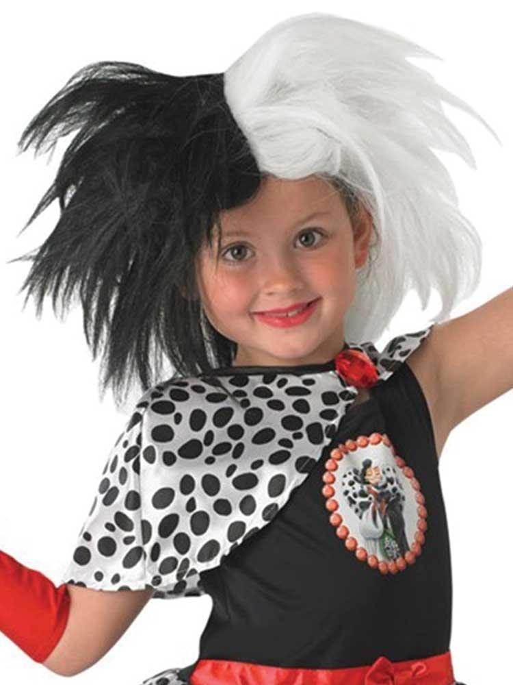 Child Cruella De Ville Wig