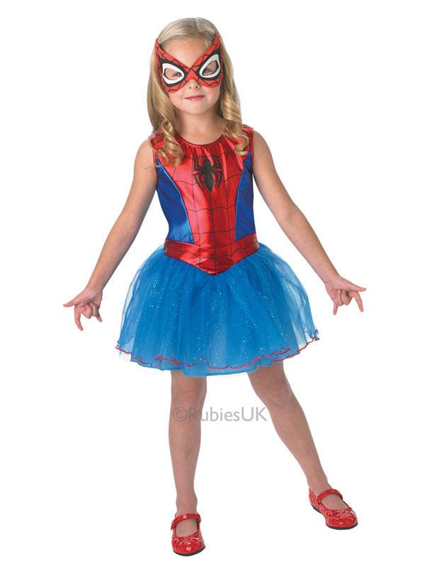 Child Marvel Spidergirl Ultimate Spiderman Costume