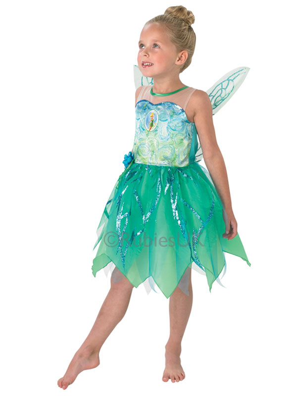 Child Disney Fairies Pixie Tinkerbell Costume