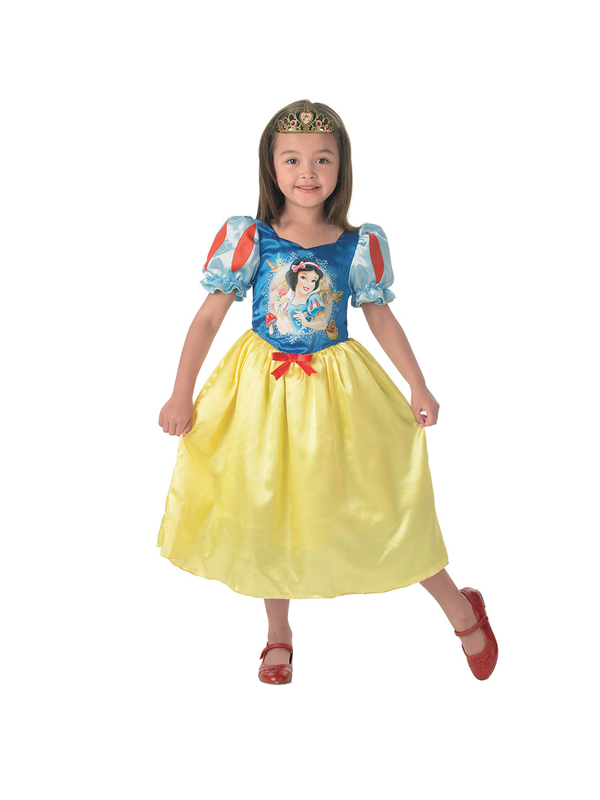 Child Disney Princess Cinderella To Snow White Reversible Costume Thumbnail 3