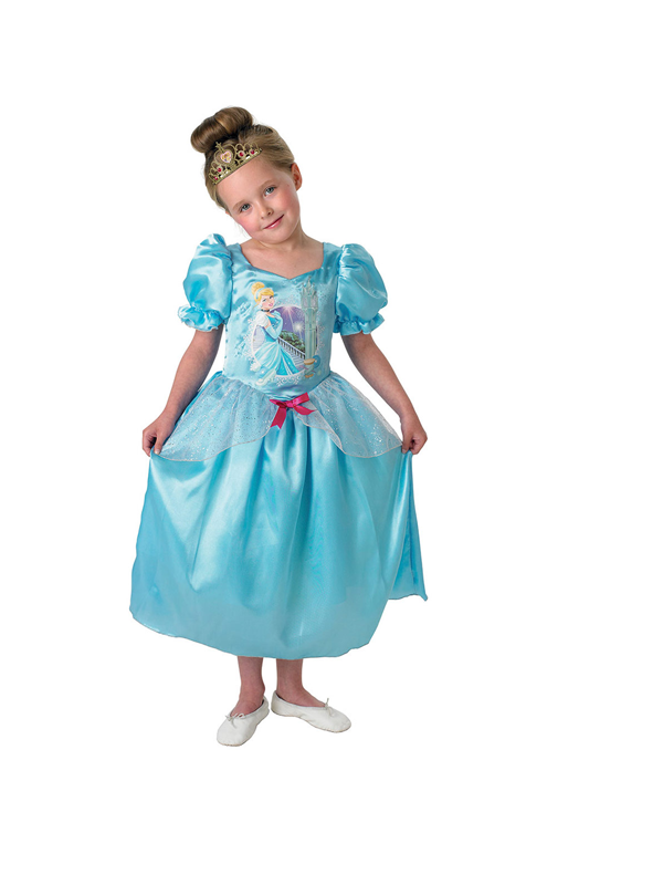 Child Disney Princess Cinderella To Snow White Reversible Costume Thumbnail 2