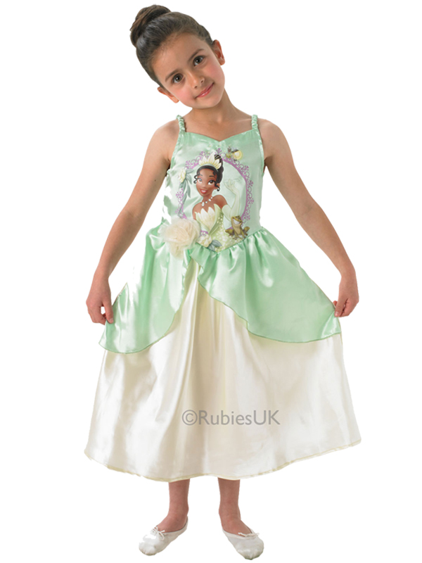 Child Disney Storytime Tiana Costume