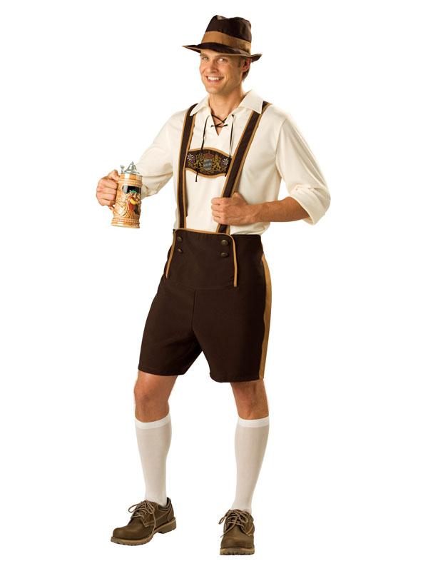 Birra Bavarese Guy Da Uomo Costume Oktoberfest Tedesco Festa Adulti Costume