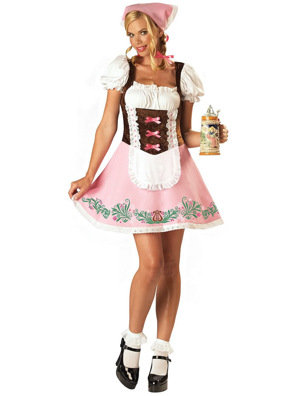 Ladies German Oktoberfest Costume