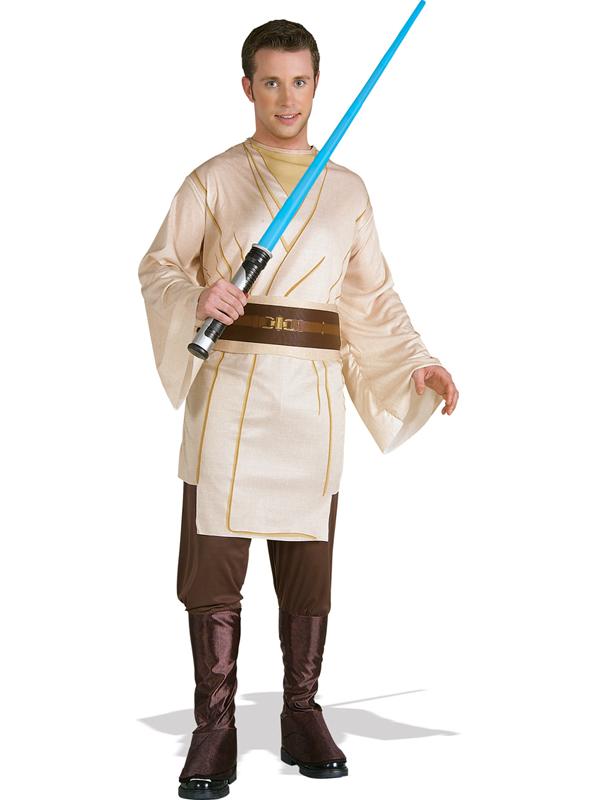 Adult Official Star Wars Jedi Knight Fancy Dress Costume Hero