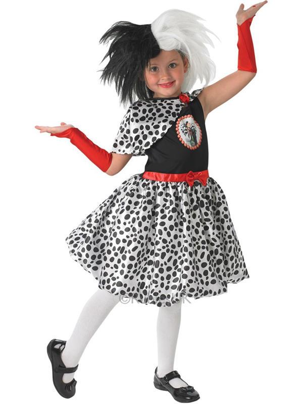 Cruella De Vil Tween Costume Thumbnail 2
