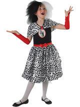 Cruella De Vil Tween Costume