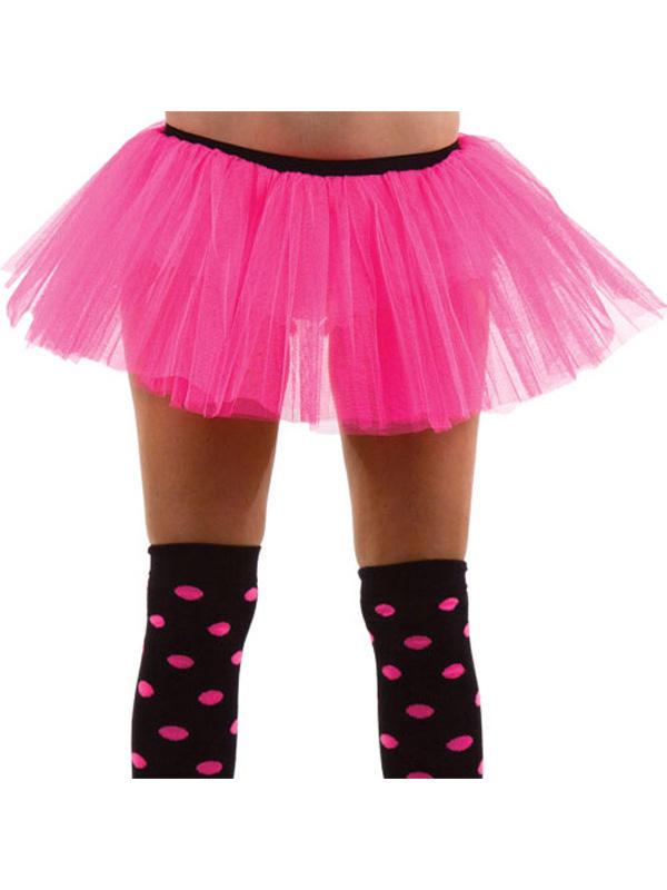 Hot Pink 3 Layer Tu Tu Skirt