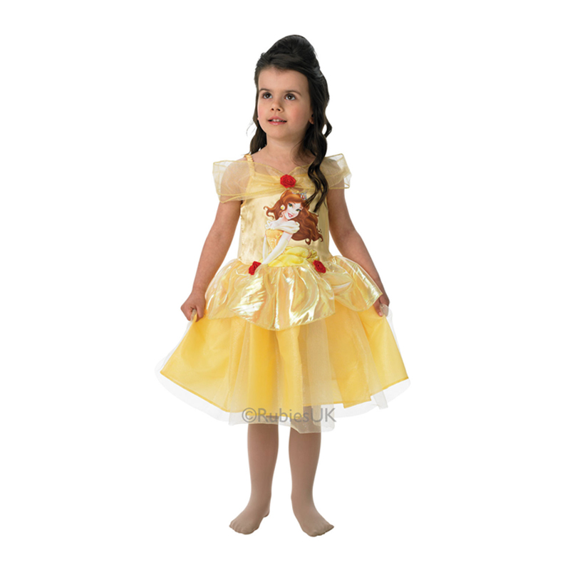 Sentinel Childs Disney Beauty Belle Classic Princess Book Week Kids Fancy Dress Costume  sc 1 st  eBay & Childs Disney Beauty Belle Classic Princess Book Week Kids Fancy ...