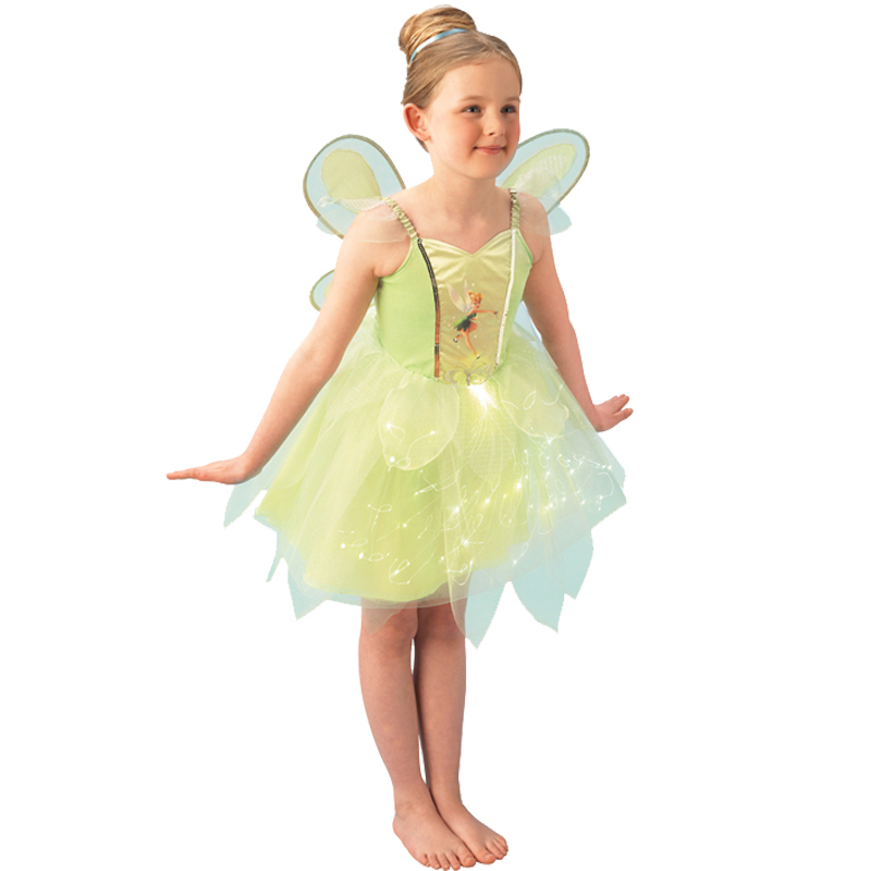 Sentinel Official Disney Tinkerbell Pixie Fairies New Fancy Dress Kids Childs Costume  sc 1 st  eBay & Official Disney Tinkerbell Pixie Fairies New Fancy Dress Kids Childs ...
