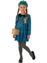 Girl's Evacuee Costume