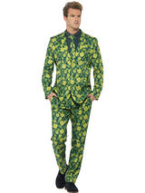 Mens Stand Out Shamrock Suit Costume