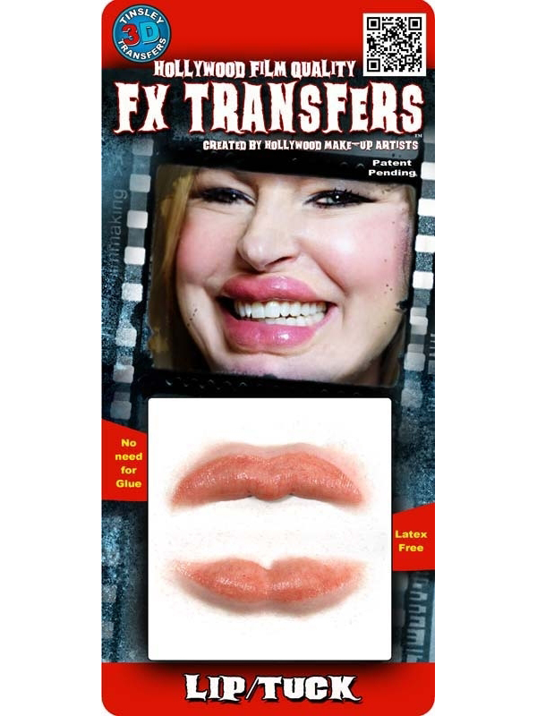 Tinsley Lip Tuck Transfers