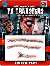 Zipper Face - Tinsley Transfers