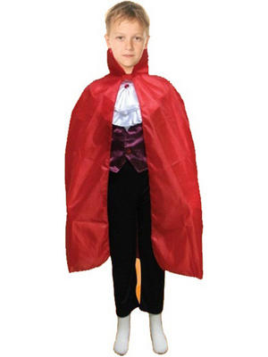 Child Kids Cape Carded