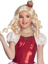 Child Apple White Wig With Headpiece