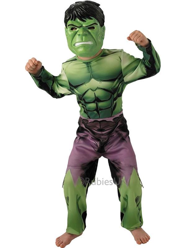 Child Classic Assemble Hulk Costume