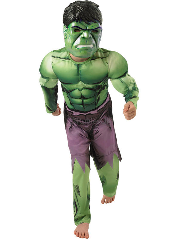 Child Deluxe Assemble Hulk Costume