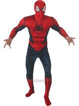 Deluxe Spiderman Classic Costume