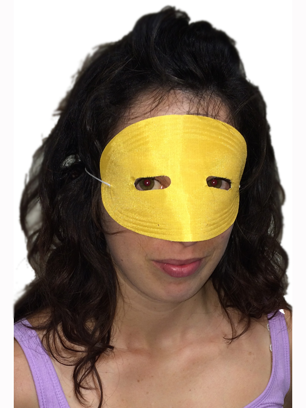 Pmg Domino Eyemask (Yellow)