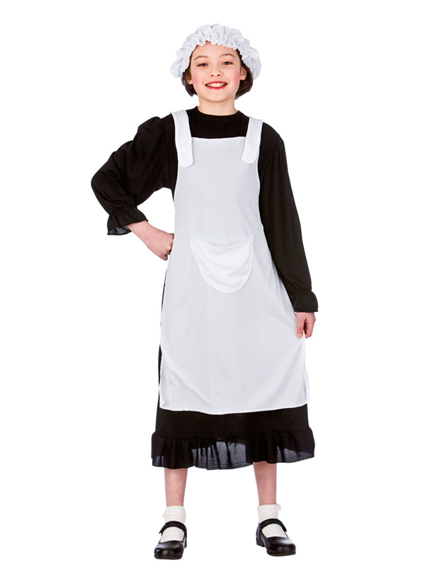 Girls childs victorian day florence nightingale nurse maid fancy girls childs victorian day florence nightingale nurse maid solutioingenieria Images