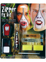 Deluxe Vampire Zipper FX Kit Make Up