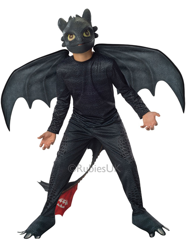 Child Boys Toothless Costume Animals Amp Insects