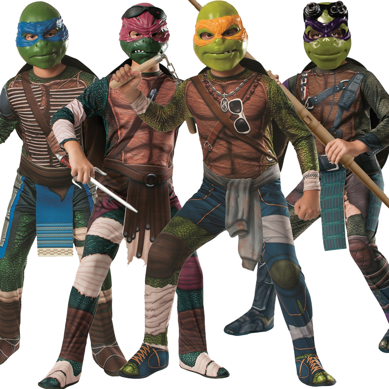 Sentinel Child Teenage Mutant Ninja Turtles TMNT Movie Fancy Dress Costume Outfit Kids & Child Teenage Mutant Ninja Turtles TMNT Movie Fancy Dress Costume ...