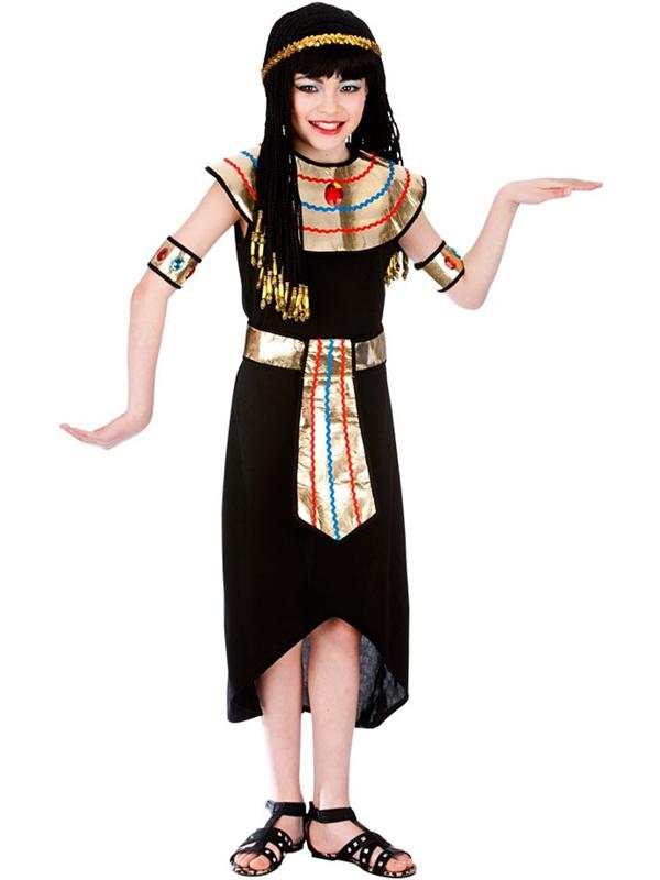 BAMBINO-Ragazze-Principessa-Cleopatra-Egiziana-Regina-Costume-Kids-  sc 1 st  eBay & Child Girls Princess Cleopatra Egyptian Queen Fancy Dress Kids ...