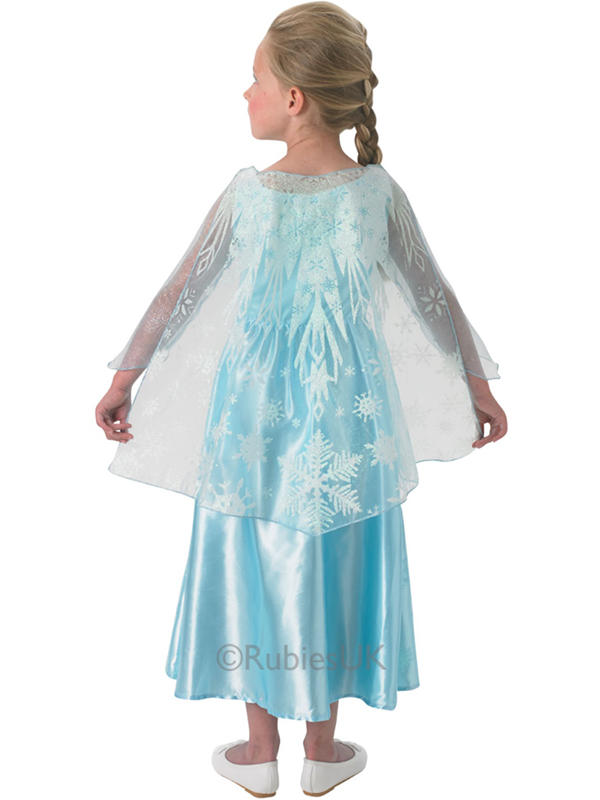 Child Disney Elsa Musical Light Up Costume Thumbnail 3