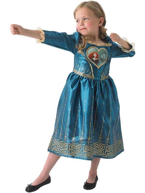 Child Loveheart Merida Costume Thumbnail 1