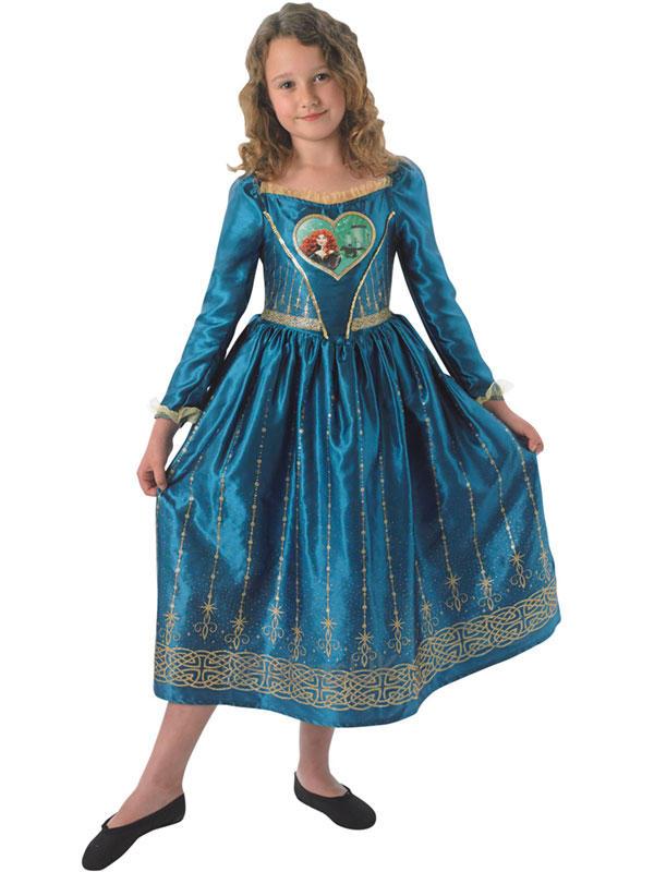 Child Loveheart Merida Costume Thumbnail 2