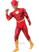 Child The Flash Muscle Chest Costume