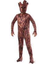 Child Boys Gotg Groot Costume & Mask