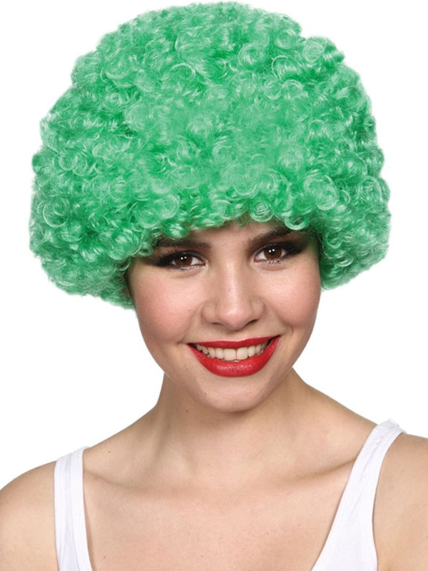 Adult Funky Afro Wig (Green)