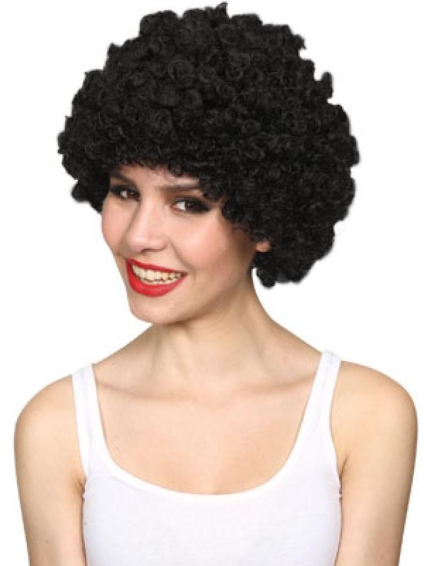 Adult Funky Afro Wig (Black) Thumbnail 1