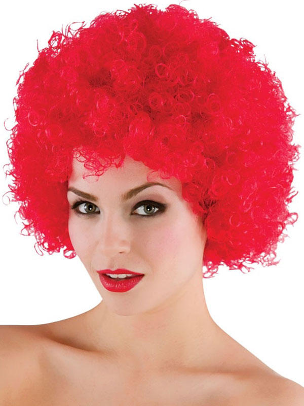 Adult Funky Afro Wig (Red)