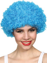 Adult Funky Afro Wig (Blue)