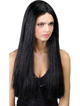 Adult Classic Long Black Wig