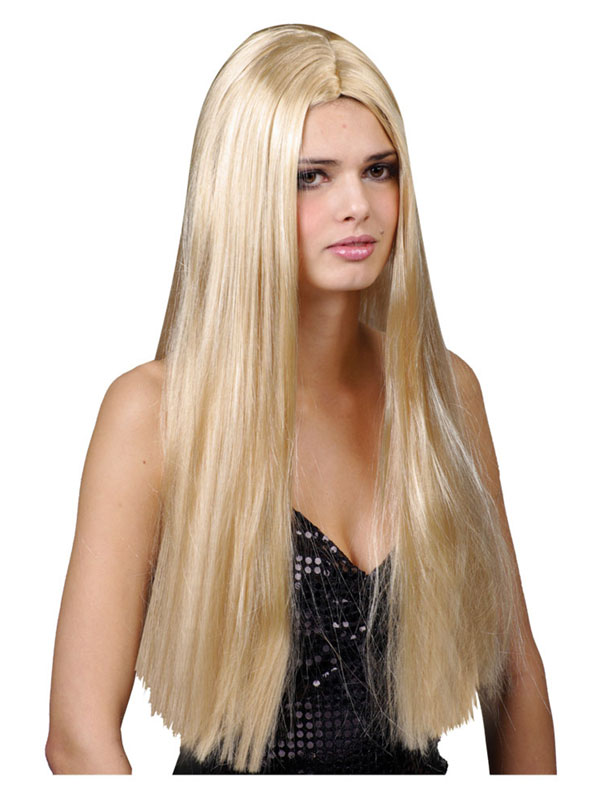 Adult Classic Long Blonde Wig