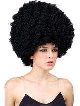Adult Super Jumbo Afro Wig (Black)
